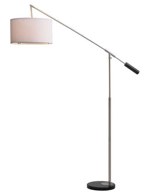 Carina Balance Floor Lamp - Nickel - Arlo Home - Arlo Home