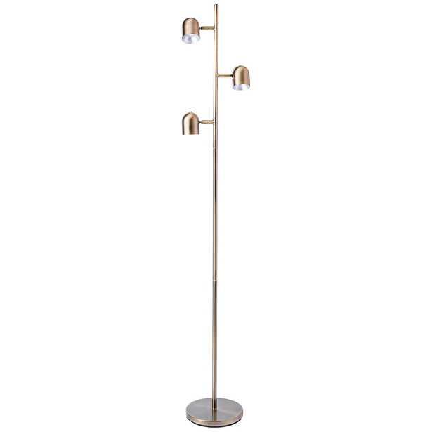 Lite Source Tiara Antique Brass LED 3-Light Tree Floor Lamp - Style # 87W24 - Lamps Plus