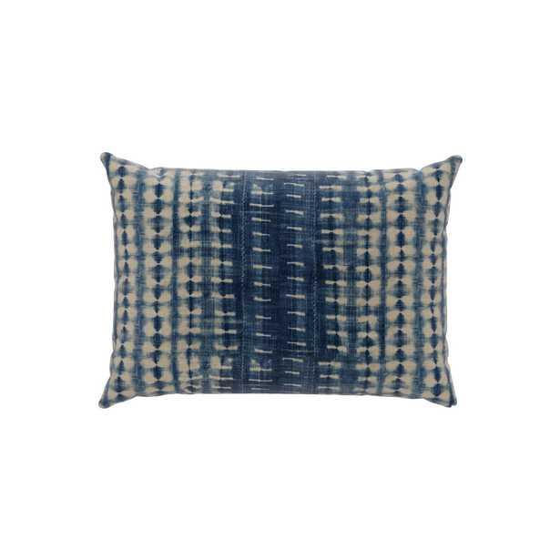 Outdoor Lumbar Pillow | Shibori - The Inside