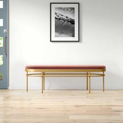 Burdette Upholstered Bench - AllModern