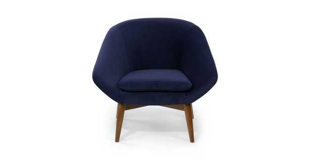 Resa Quill Blue Chair - Article