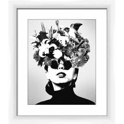 Nature Woman by PTM Images - Picture Frame Print on Glass - AllModern