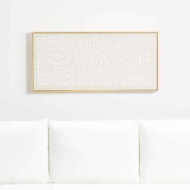 Patchwork White - Crate and Barrel
