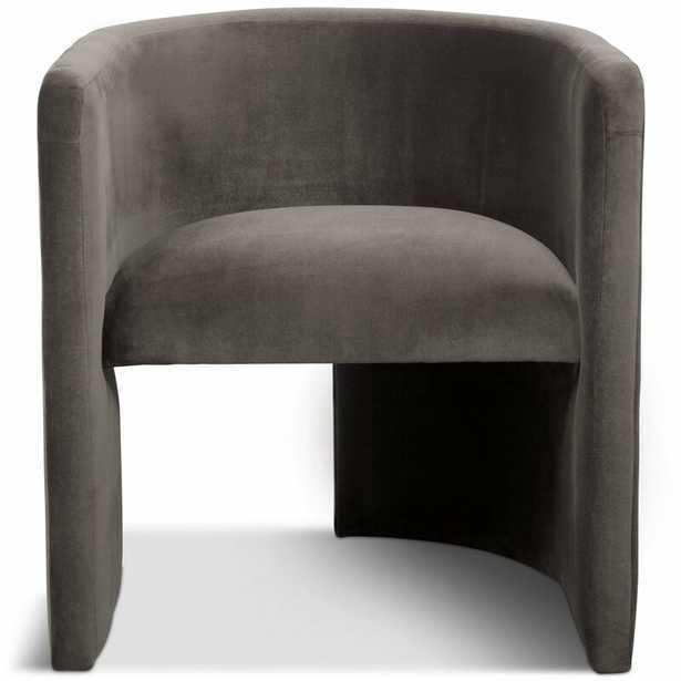 Martinique Barrel Chair Upholstery Color: Dark Grey - Perigold