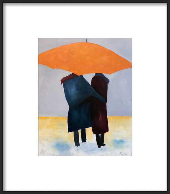 Facing The Elements Together by Janet Bludau for Artfully Walls - Artfully Walls