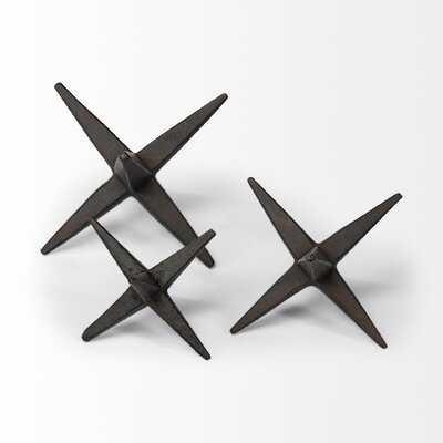 3 Piece Huan Sculpture Set - Wayfair