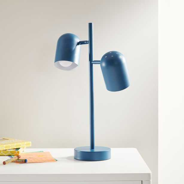Blue Touch Table Lamp - Crate and Barrel