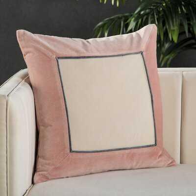 Cuvier Square Cotton Pillow Cover - Wayfair