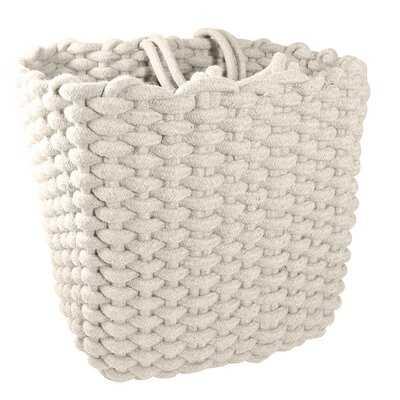 Medium Square Fabric Basket - Wayfair