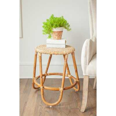 Solid Wood Accent Stool - Wayfair