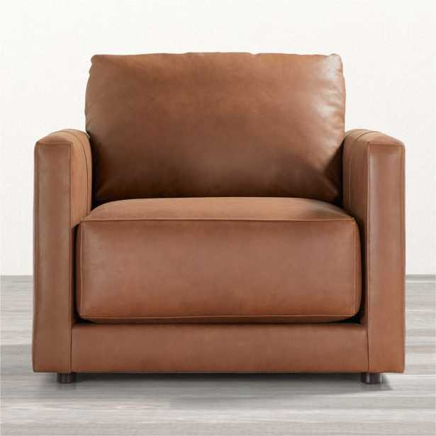 Gather Leather Chair - Crate and Barrel