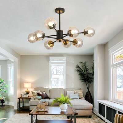 8 - Light Galss Style Chandelier - Wayfair