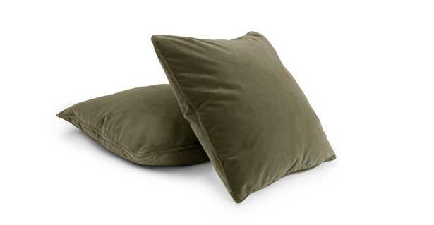 Lucca Juniper Green Pillow Set - Article