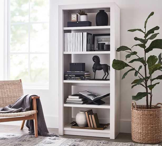 Dillon Tall Bookcase, Montauk White - Pottery Barn