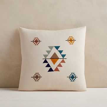 """Mexican Pillow Cover, 18""""x18"""", Multi, Set of 2 - West Elm"""