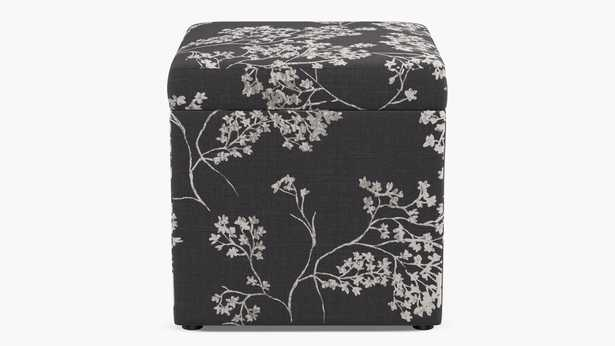 Cube Storage Ottoman   Branches - The Inside