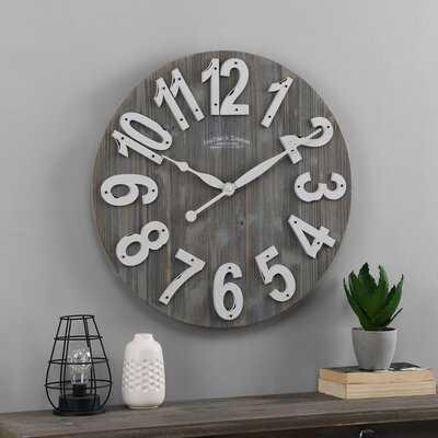 """Barnong 22.5"""" Wall Clock - Wayfair"""