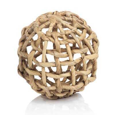 Hamrick Water Hyacinth Twisted Fill Decorative Ball - Wayfair