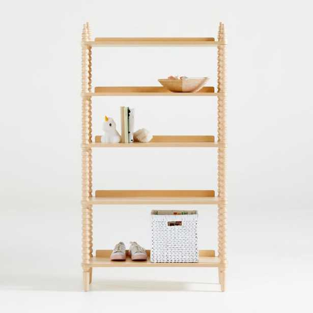 Jenny Lind Maple Bookcase - Crate and Barrel