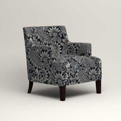 Howerton Chair - Wallace Midnight Paisley - Wayfair
