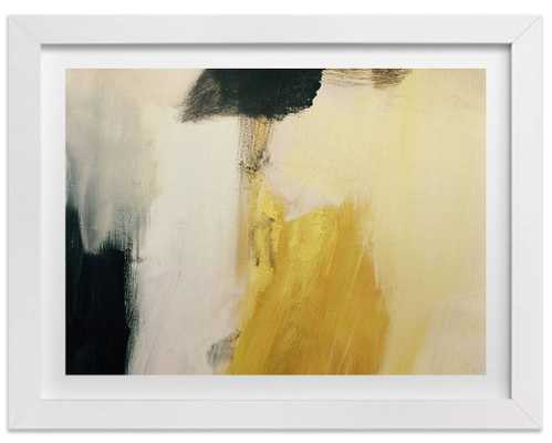 """Francis Gold-18""""x24""""-Framed - Domino"""