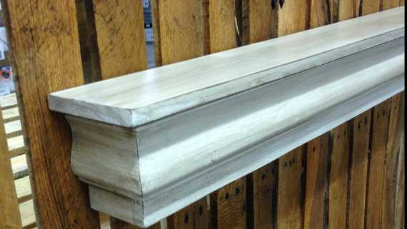 Floating Mantle Shelf made from Reclaimed Wood, - Etsy