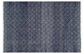 Aidona Rug, Navy - One Kings Lane