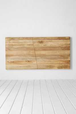 Angled Wood Headboard - Urban Outfitters