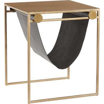 SAIC sling nightstand-side table - CB2