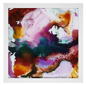 "Hide & Seek - 30""x30"" - Framed ( Matte white) - Z Gallerie"