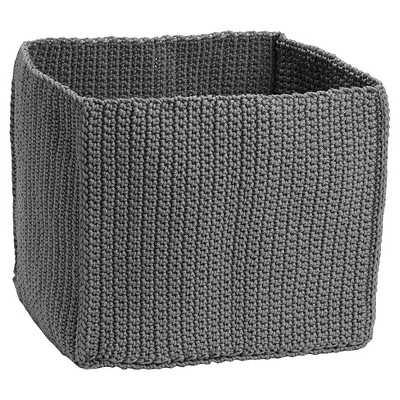 InterDesign® Crochet Cube - Grey - Target