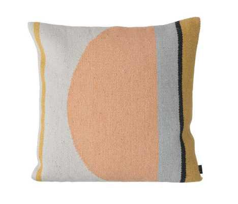 Kelim Cushion - Semi Circle - Multi - Tressle