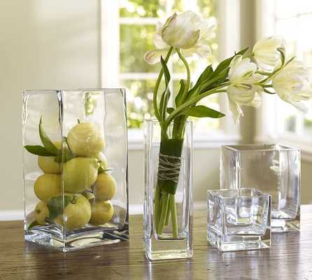 Square Vases - Pottery Barn
