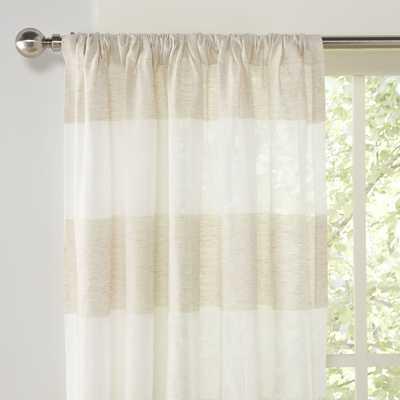 "Euclid Curtain Panels - 112"" L x 54"" W - Birch Lane"