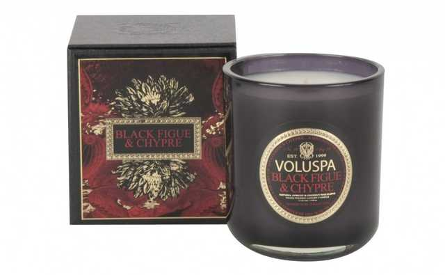 BLACK FIGUE & CHYPRE CANDLE - Jayson Home
