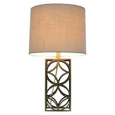 "Thresholdâ""¢ Harper Table Lamp Medium - Plated Antique Brass (Includes CFL Bulb) - Target"