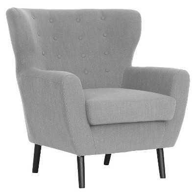 Baxton Linen Modern Club Chair - Target