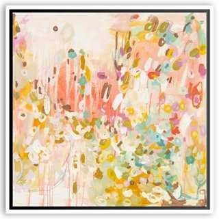 Michelle Armas, That Bowtie I Like - 24x24 - Framed (White) - One Kings Lane