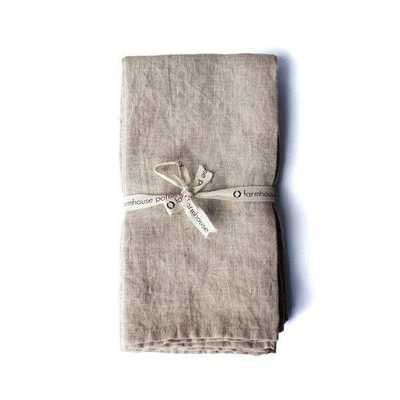 Washed Linen Napkins - Domino