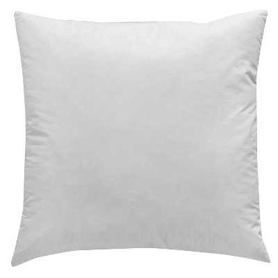 Surya Down Pillow Insert 20x20, With Insert - Target