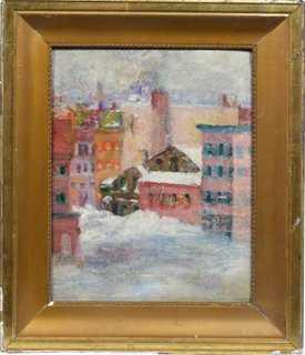 New York Winter View - One Kings Lane