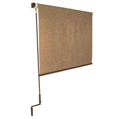 Walnut Cordless Roller Shade - Home Depot