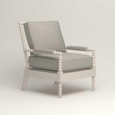 Henderson Chair - Kennon Saltwater Navy - Birch Lane