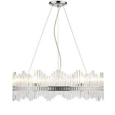 Luciano 6 Light Crystal Chandelier - AllModern