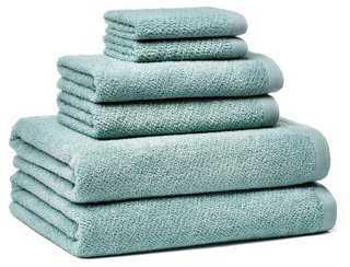 6-Pc Amalfi Towel Set - One Kings Lane