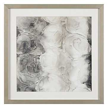 Grey Circles 1 - 23.5''W x 23.5''H  - Framed - Z Gallerie
