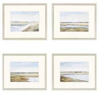 """Marshes - 18x2"""" - Framed - One Kings Lane"""