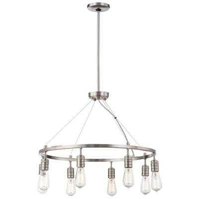 Downtown Edison 8 Light Chandelier - Wayfair