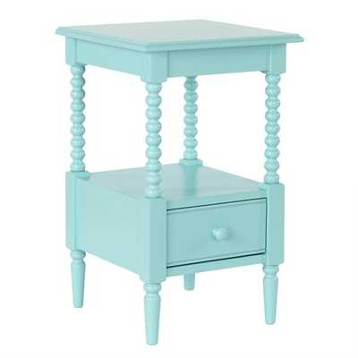 Azure Jenny Lind Small Nightstand - Land of Nod
