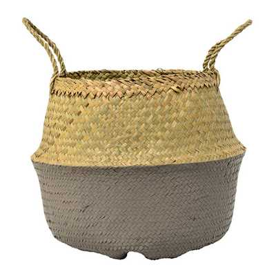Seagrass Basket with Handles - AllModern